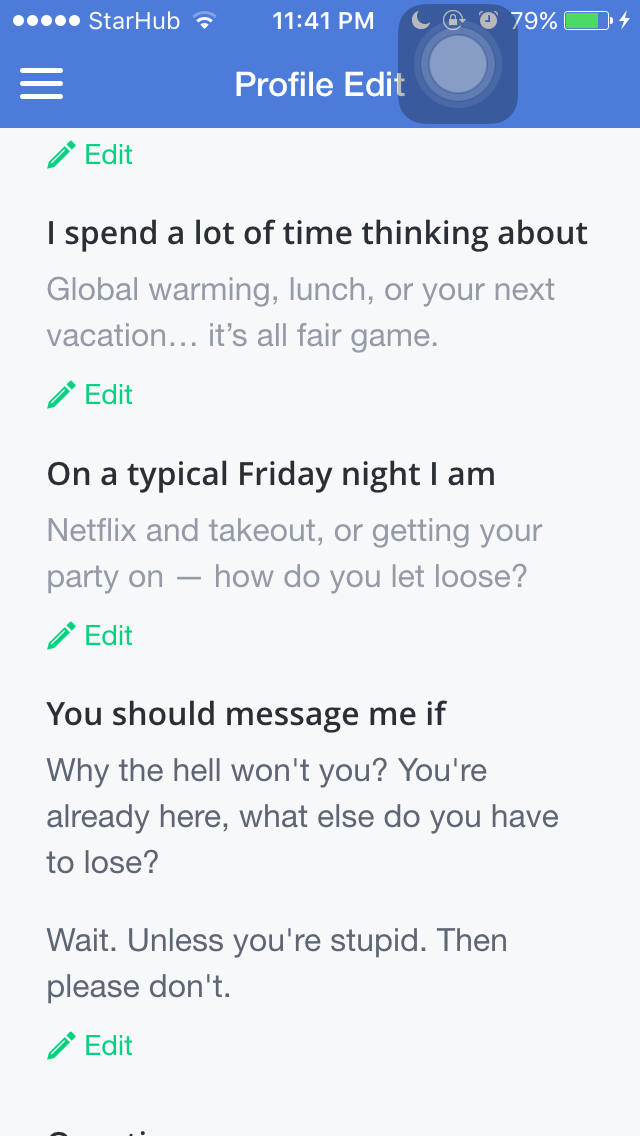 Life on ok Cupid, and my idea for a similar app | You KNOW I
